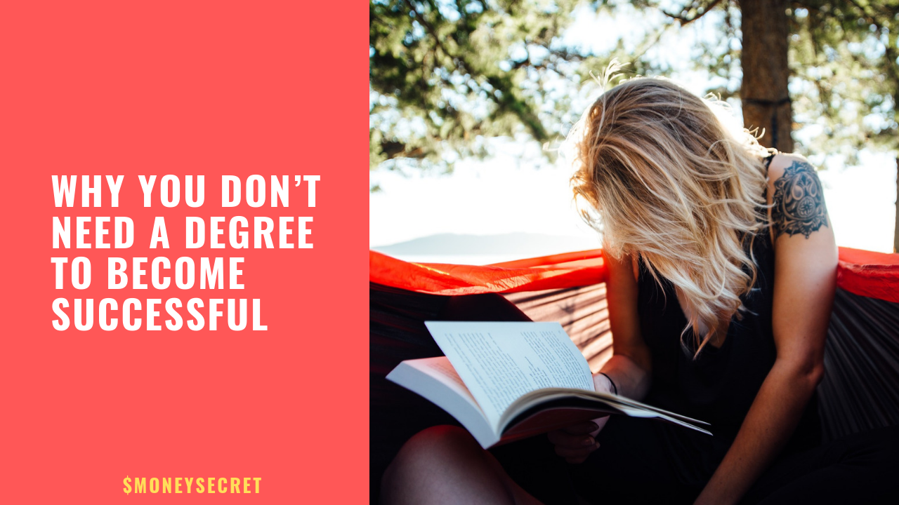 Why you don't need a degree